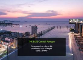 芭提雅·中海公寓The Base Central Pattaya