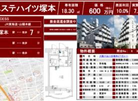 大阪市·【总价约36万元人民币!大阪市淀川区高收益公寓!】