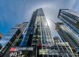 """蒙特利尔·【市中心】蒙城最高住宅大楼——""""L'Avenue 金光大道""""顶级奢华公寓 新近交盘!"""