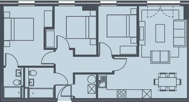 英国曼彻斯特-RIVERGATE HOUSE公寓