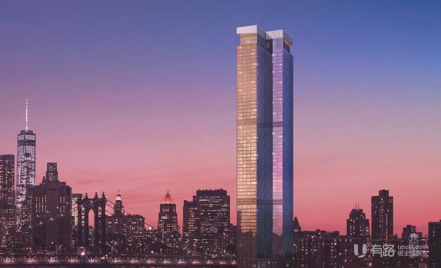 美国纽约-One Manhattan Square曼哈顿壹号广场