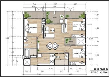 泰国清迈-清迈新概念殖民风公寓项目