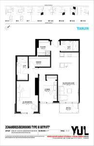 加拿大蒙特利尔-YUL蒙特利尔市中心公寓