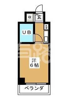 日本東京-A bachelor apartment in sugiyama district, Tokyo
