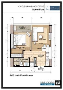 泰国曼谷-智能环保公寓 Circle 2
