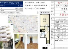 东京·东京都内山手线圈高收益1居室
