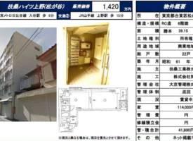 东京·东京上野车站投资性公寓稀少物件超大面积仅85万人民币