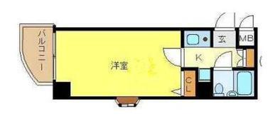 日本大阪-大阪住吉区墨江4丁目 1房公寓
