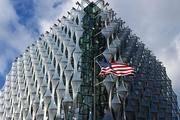 美驻英新大使馆低调开放 特朗普嫌弃造价高地段差
