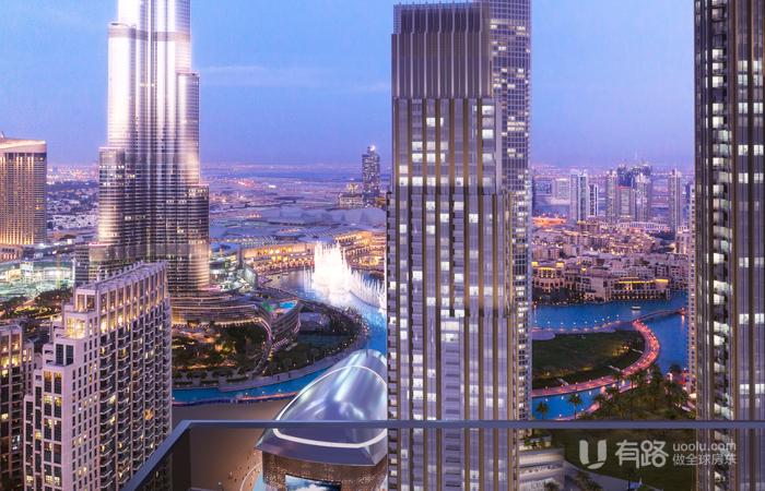 阿联酋迪拜-刀锋大厦
