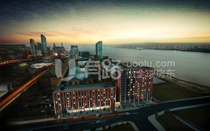 The BritishLiverpool-Quay Central - Liverpool Central harbour - Liverpool