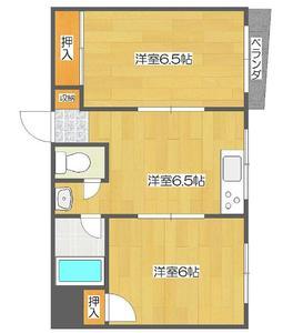 日本大阪-大阪住之江区御崎6丁目 1房公寓