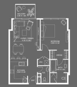 阿联酋迪拜-Atria Residential