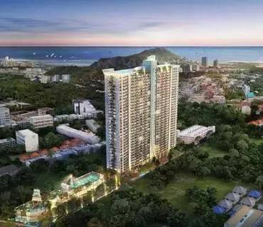 7%租金回报!比同地区价格便宜15%!37万带走芭提雅中天海滩精品公寓