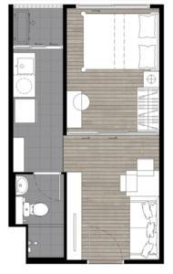 泰国曼谷-曼谷大学城学生公寓 Plum Condo Rangsit