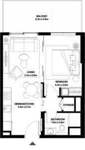 阿联酋迪拜-Collective 精选公寓二期