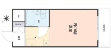 日本大阪-新北野单身公寓