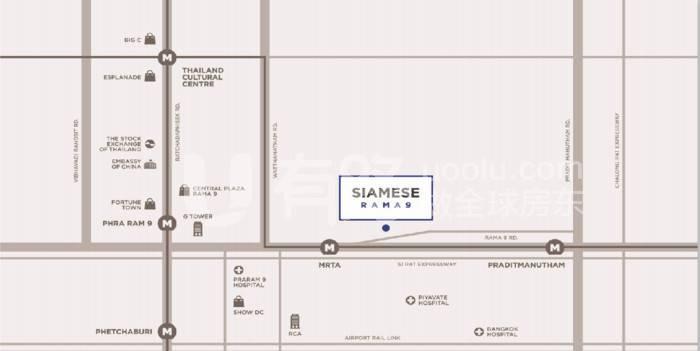 ThailandBangkok-Siamese Rama 9