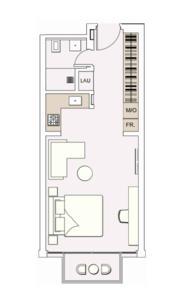 阿联酋迪拜-绿色公寓