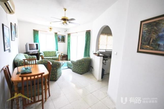 塞浦路斯帕福斯-塞浦路斯两居室公寓