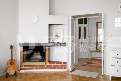 Finland-Exquisite two bedroom with fireplace