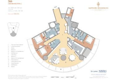 斯里兰卡-Sapphire Residences