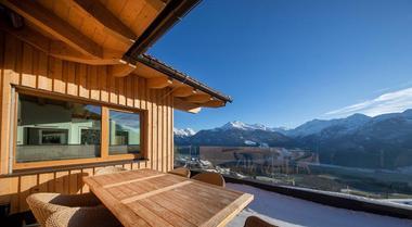 奥地利-雪山小木屋