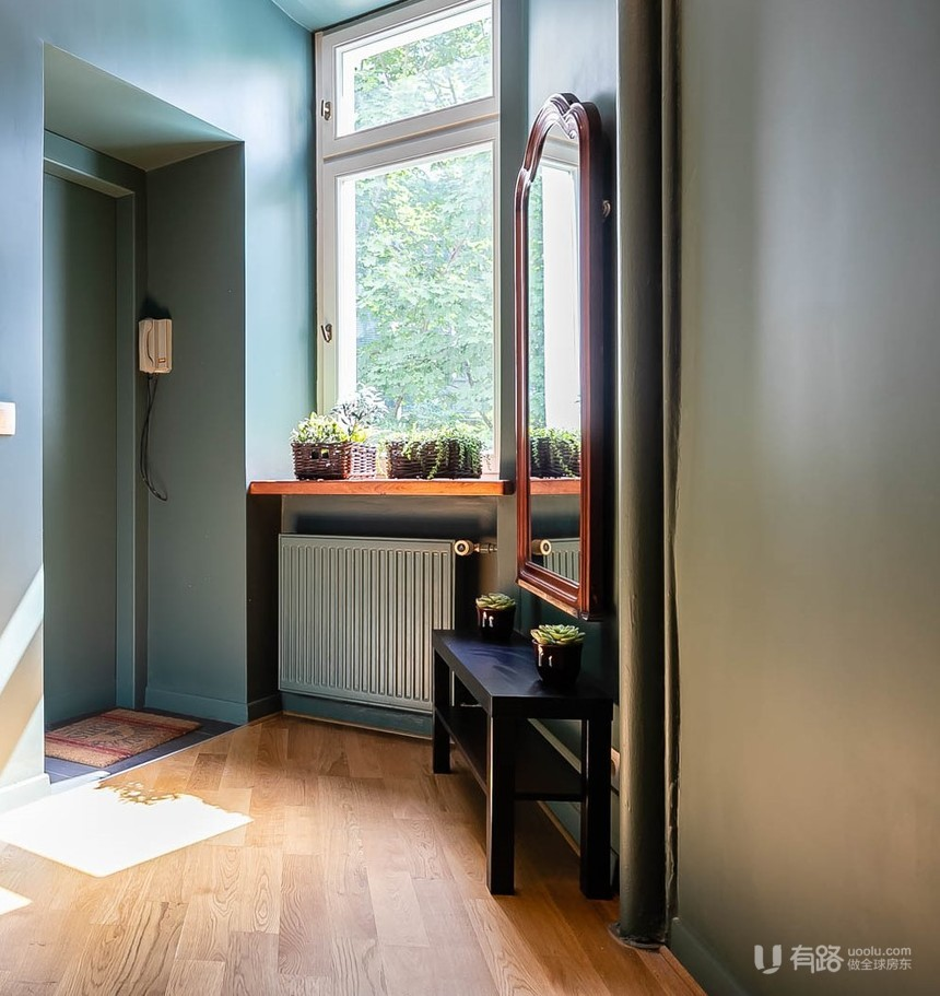 波兰-华沙巴黎惬意公寓
