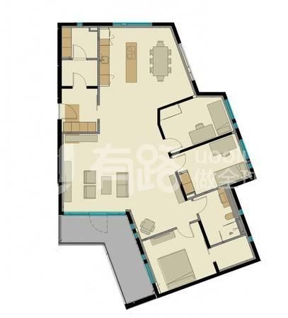 冰島-Garden Family Apartment 4