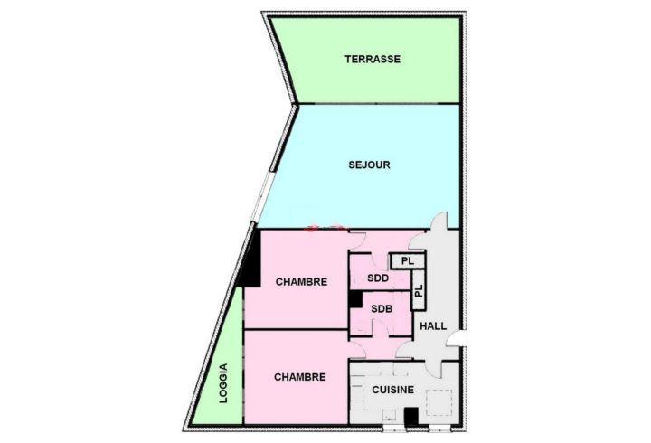 摩纳哥-独享宽阔海景公寓