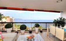 Monaco-Exclusive wide sea view apartment