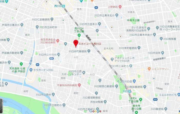 日本越谷-Kawaguchi City, Saitama Prefecture, Japan | High cost performance 10 minutes to the station two lines