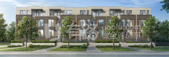 CanadaToronto-North York luxury town house, Lawrence Heights, 900,000