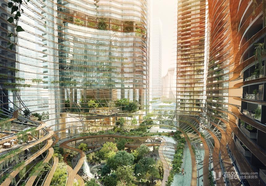 新加坡新加坡-Marina One Residences 滨海盛景 (D01 邮区 滨海湾)