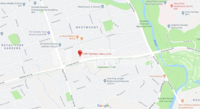 加拿大多倫多-Future Light Rail, Notting Hill Condos, a large new community in Etobicoke