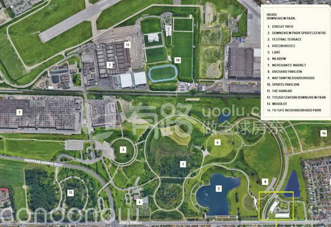 CanadaToronto-Toronto Future Central Park Float: Saturday in Downsview Park, green and comfortable