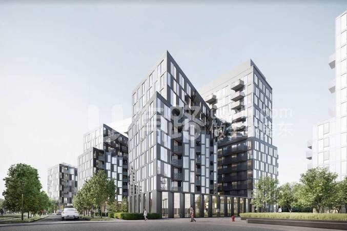 CanadaToronto-[Tretti Condo] A new building project next to the Wilson Metro Station in North York, next to Yorkdale, with direct access to the University of Toronto and York University!