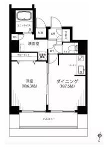 日本-东京 千代田区 公寓| 山手线秋叶原徒步5分钟!皇宫所在区,房型结构好,干湿分离