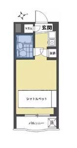 日本-东京 新宿区 公寓 |  最高层小户型, 到车站只要8分钟, 到新宿池袋银座商业区一部到位!