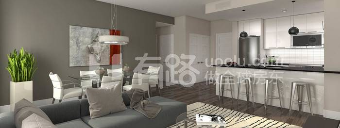 加拿大蒙特利爾-[Mengcheng Louhua] 2 minutes walk to Kangda, only 1 km from McGill University, two-line subway! Montreal City Centre, Centra Condos