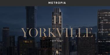 加拿大多伦多-多伦多市中心最尊贵地段,11 Yorkville Condos 即将盛大开盘!