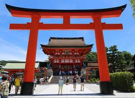 京都·1280 meters from Fushimi Inari University, one of the most famous tourist spots in Japan