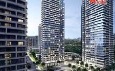 加拿大多倫多-Markham City's core area new property Uptown Markham River Yue Huating is looking forward to the A floor