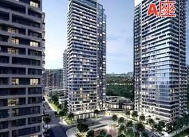トロント·Markham City's core area new property Uptown Markham River Yue Huating is looking forward to the A floor