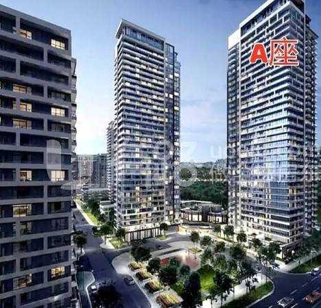 カナダトロント-Markham City's core area new property Uptown Markham River Yue Huating is looking forward to the A floor