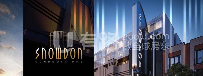 CanadaMontreal-Snowdon Theatre's new apartment project, less than 300,000, adjacent to Snowdon subway station and commercial street, flexible rental, investment choice!