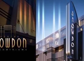 蒙特利爾·Snowdon Theatre's new apartment project, less than 300,000, adjacent to Snowdon subway station and commercial street, flexible rental, investment choice!