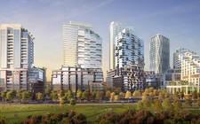 加拿大多倫多-A large-scale integrated community in downtown West Toronto, Galleria On the Park Condos