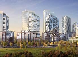 トロント·A large-scale integrated community in downtown West Toronto, Galleria On the Park Condos