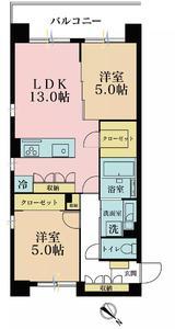 日本东京-东京 港区 公寓 | 位處六本木, 两房一厅,新装修!